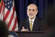 U.S. Federal Reserve Chairman Ben Bernanke gestures during a news conference at the Federal Reserve in Washington, June 20, 2012. REUTERS/Jonathan Ernst
