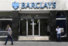 A man walks past a branch of Barclays bank in central London, June 28, 2012. REUTERS/Paul Hackett