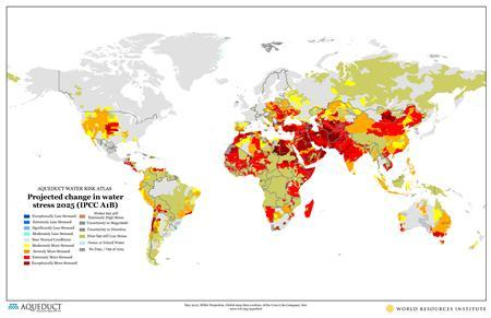 Maps Spark Concern Over Corporate Water Grab - Us water scarcity map