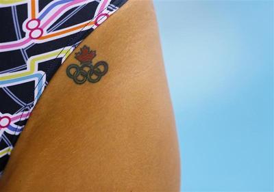Olympic tattoos