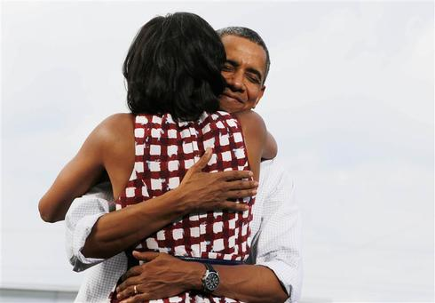 Obama's romantic moments