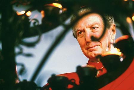 Former Milan Cardinal Carlo Maria Martini is pictured in this undated file photo. REUTERS/Max Rossi/files
