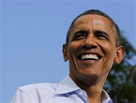 9月1日、米ホワイトハウスは、オバマ大統領が遊説先で支持者にプレゼントしたことで明らかになり、関心を集めていた自家製ビールのレシピを公開(2012年 ロイター/Larry Downing)