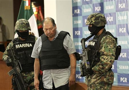 Mexico catches leader of Gulf Cartel drug gang | Reuters com