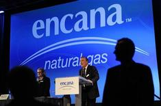 Randy Eresman, president and CEO of EnCana, addresses shareholders at the company's annual general meeting in Calgary, Alberta, April 25, 2012. REUTERS/Todd Korol
