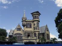 Killarney, one of the Magnificent Seven houses, is pictured at Queen's Park Savannah, May 16, 2012. REUTERS/Verna Gates