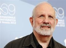 "Director Brian De Palma poses during the photocall of the movie ""Passion"" at the 69th Venice Film Festival September 7, 2012. REUTERS/Tony Gentile"