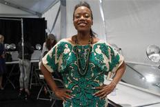 Designer Tracy Reese poses for a portrait before showing her Spring/Summer 2013 collection during New York Fashion Week September 9, 2012. REUTERS/Carlo Allegri