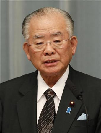 9月10日、松下金融担当相の事務所によると、同相は10日夜、東京都内の病院で死亡が確認された。写真は6月、都内で撮影(2012年 ロイター/Toru Hanai)