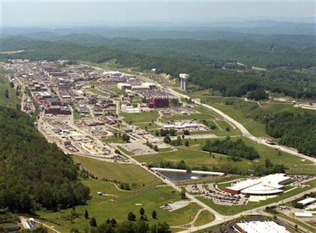 An aerial view of the Y-12 Plant in Oak Ridge, Tennessee is seen in this U.S. government handout photo released on August 3, 2012. REUTERS/National Nuclear Security Administration/Handout