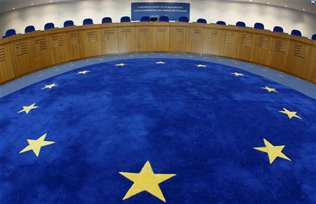 General view of the European Court of Human Rights hearing room in Strasbourg, July 3, 2012. REUTERS/Vincent Kessler