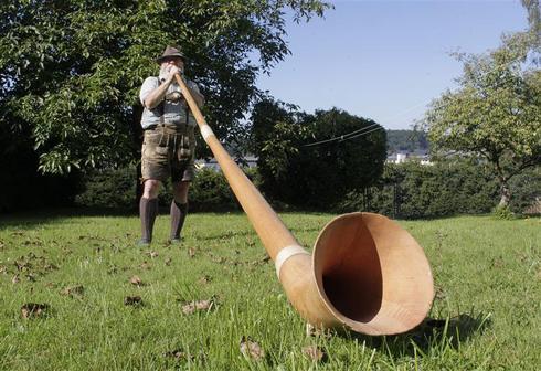 The art of alpine horns