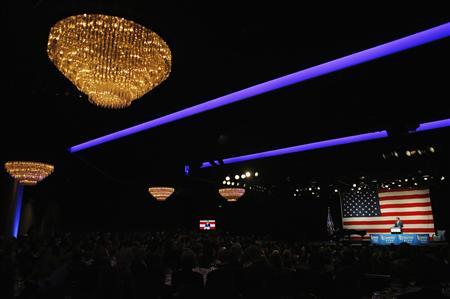 Republican presidential candidate and former Massachusetts Governor Mitt Romney speaks at a campaign fundraiser in Beverly Hills, California September 22, 2012. REUTERS/Brian Snyder