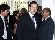 Spain's Prime Minister Mariano Rajoy arrives to speak at the Council of the Americas in New York September 26, 2012. REUTERS/Carlo Allegri