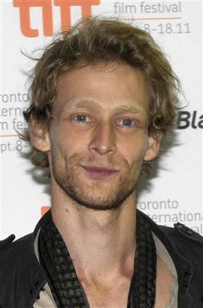 Actor Johnny Lewis arrives at the screening of the film ''Lovely Molly'' at the 36th Toronto International Film Festival in this September 14, 2011 file photo. REUTERS/Mike Cassese/Files