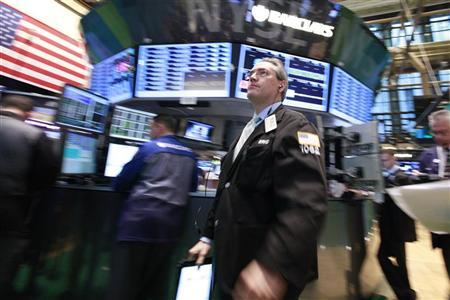 Traders work on the floor of the New York Stock Exchange, September 20, 2012. REUTERS/Brendan McDermid