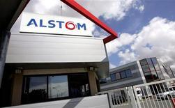 <p>Alstom a lancé une augmentation de capital de 300 millions d'euros dont le produit servira essentiellement au financement des acquisitions en cours, notamment de la société russe de matériel roulant Transmashholding. /Photo d'archives/REUTERS/Régis Duvignau</p>