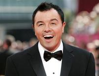 """Seth MacFarlane, the creator of """"Family Guy"""", arrives at the 61st annual Primetime Emmy Awards in Los Angeles, California in this September 20, 2009 file photo. The Academy of Motion Picture Arts and Sciences announced October 1, 2012 that MacFarlane will host the 85th Academy Awards, to be presented on February 24, 2013. REUTERS/Danny Moloshok/Files"""