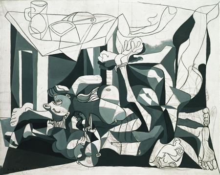 It's all black and white in new Picasso exhibition