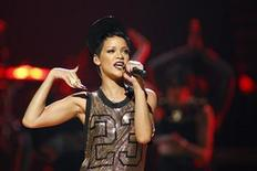 Rihanna performs during the 2012 iHeart Radio Music Festival at the MGM Grand Garden Arena in Las Vegas, Nevada September 21, 2012. REUTERS/Steve Marcus