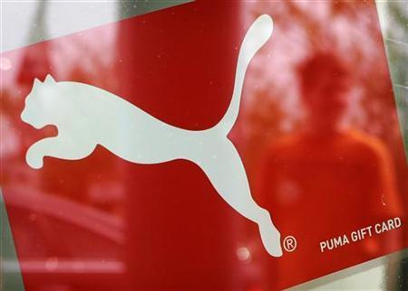 47a8e918445 Puma launches biodegradable shoes to aid nature, lift sales - Reuters