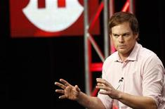 "Cast member Michael C. Hall attends a panel for ""Dexter"" during the Showtime television portion of the Television Critics Association Summer press tour in Beverly Hills, California July 30, 2012. REUTERS/Mario Anzuoni"