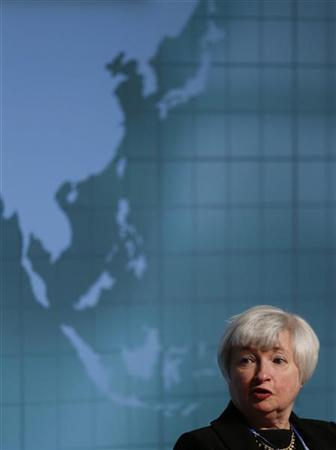 Janet Yellen, Vice Chair of the U.S. Federal Reserve System, attends a program of seminars of the International Monetary Fund (IMF) and World Bank annual meetings in Tokyo October 10, 2012. REUTERS/Toru Hanai