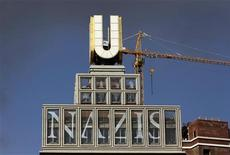 A display shows an anti-Nazi slogan at a museum in Dortmund in this September 4, 2010 file photo. REUTERS/Ina Fassbender/Files