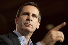 Ontario Premier Dalton McGuinty gestures as he releases the Liberal Party Election Platform during a news conference in Toronto in this September 5, 2011 file photo. REUTERS/ Brett Gundlock/Files