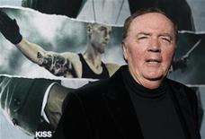 "Producer and author James Patterson poses at the premiere of ""Alex Cross"" at the ArcLight Cinerama Dome in Los Angeles, California October 15, 2012. The movie opens in the U.S. on October 19. REUTERS/Mario Anzuoni"