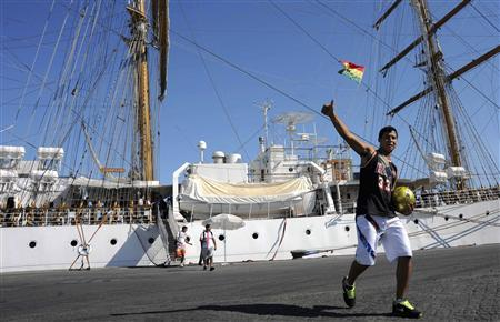 Ghana says sailors on seized Argentine ship free to leave