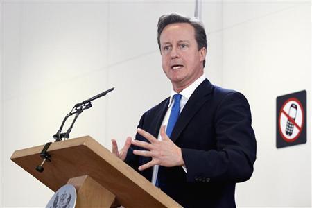UK's Cameron to fight back on crime after grim week