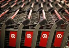 Shopping carts are seen in the new CityTarget store in downtown Chicago July 18, 2012. REUTERS/Jim Young