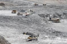 A general view of Agnico-Eagle's Meadowbank gold mine is pictured near Baker Lake, Nunavut August 24, 2011. REUTERS/Chris Wattie