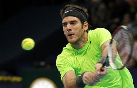 Del Potro stuns Federer to win Basel title
