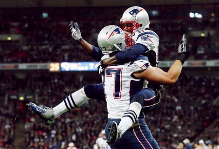 Patriots rout Rams in Wembley meeting