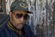 RZA poses for a photograph while promoting the upcoming film The Man With the Iron Fists in West Hollywood, California, October 24, 2012. REUTERS/Jonathan Alcorn