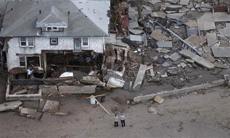 NJ power firm PSEG says Sandy severely damaged infrast...