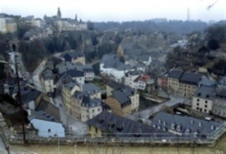 General view of the Luxembourg, seen from the east