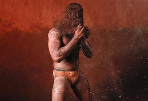 Traditional wrestling in India