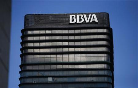 The headquarters of Spanish bank BBVA are seen in Madrid October 31, 2012. REUTERS/Juan Medina