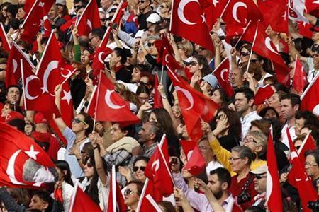 REUTERS/Umit Bektas (TURKEY - Tags: POLITICS CIVIL UNREST)