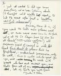 A letter drafted in 1971 by John Lennon is shown in this undated publicity photograph released to Reuters by auction house Profiles in History on November 5, 2012. Fans of Lennon can get a rare glimpse into his thoughts in a letter he wrote to guitarist Eric Clapton that could fetch as much as $30,000 when it it sold at auction next month, the organizers of the sale said on Monday. The auction is set for December 18 in Los Angeles. REUTERS/Courtesy Profiles in History/Handout