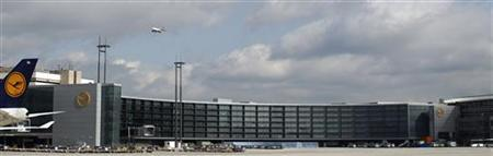 The newly built A-Plus terminal section is pictured at the Fraport airport during a guided media tour in Frankfurt September 28, 2012. A-Plus will officially open on October 2. REUTERS/Lisi Niesner (GERMANY - Tags: BUSINESS TRANSPORT)