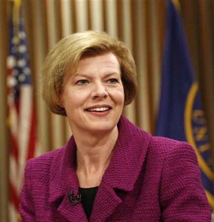 Wisconsin's Baldwin becomes first openly gay senator