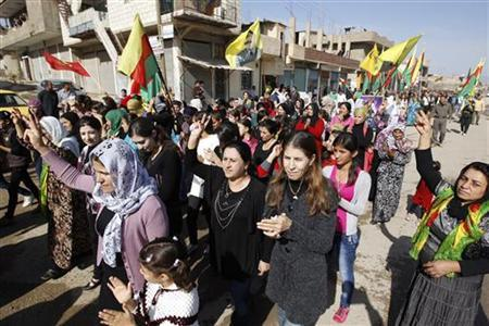 After quiet revolt, power struggle looms for Syria's Kurds
