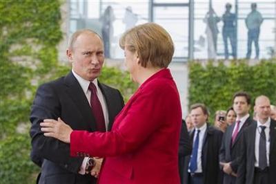 New chill in German-Russian ties before Merkel visit