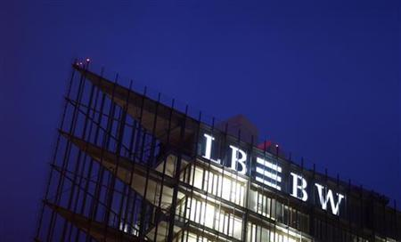 The headquarters of Germany's biggest landesbank, LBBW, are pictured in Stuttgart December 7, 2009. (GERMANY - Tags: BUSINESS CRIME LAW)