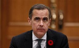 Bank of Canada Governor Mark Carney waits to testify before the Commons finance committee on Parliament Hill in Ottawa October 30, 2012. REUTERS/Chris Wattie