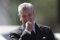 Il ministro della Difesa Giampaolo Di Paola. Brasilia, 26 giugno 2012. REUTERS/Ueslei Marcelino